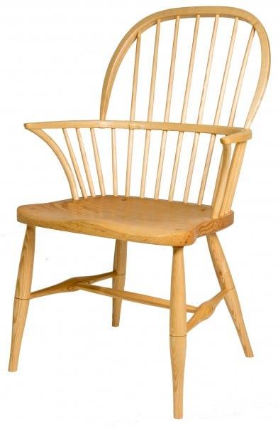 double bow Windsor chair