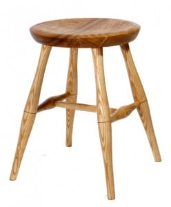 Windsor stool made on weekend course at The Windsor Workhsop