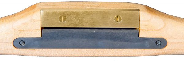 Brass Wear-plate on Medium Spokeshave from The Windsor Workshop