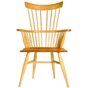 Minimalist Comb Armchair