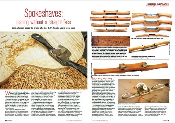 Spokeshaves article