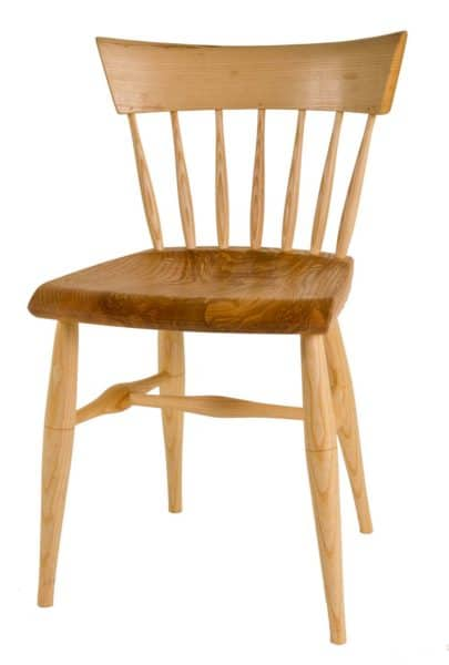 Low-comb side chair