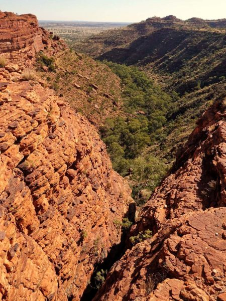 Australian outback valley