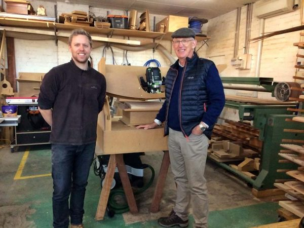 Rolf Barfoed is a superb woodworker