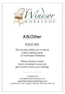 Chair Making Course Voucher